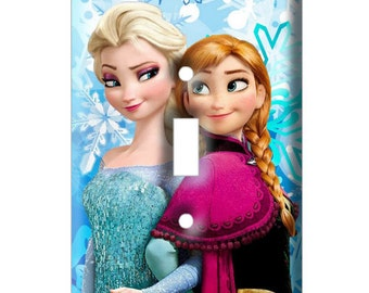 Frozen Sisters Light Switch Cover - Decorative Switch Plate Cover