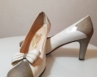 FREE  SHIPPING   Salvatore  Ferragamo Heels