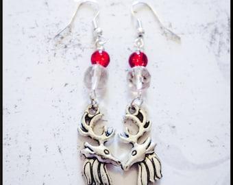 Hannibal Inspired Nightmare Stag Earrings