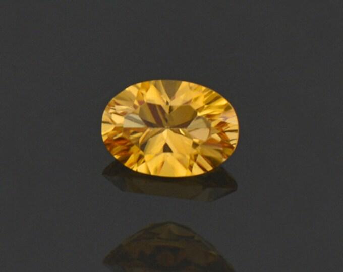 Gorgeous Yellow Sunset Tourmaline Gemstone from Tanzania 0.55 cts