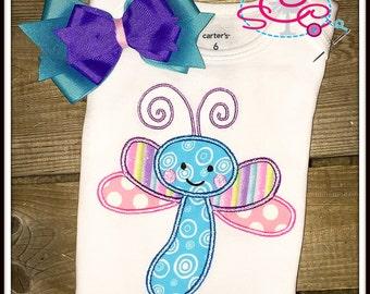 Personalized Dragonfly Shirt/Bodysuit