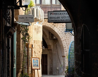 Travel Photography From Israel - Old Jaffa - Architectural Art