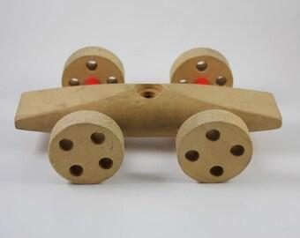 Vintage Mid-Century Creative Playthings Wooden Car Toy - Fredun Shapur