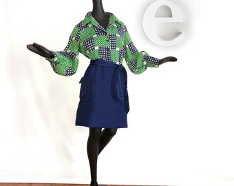 Vintage 70s Hippie Dress 1970s Hippy Boho Hillbilly Chic Polka Dot Flower Power Patchwork Sexy Secretary Dress Sheer Poet Sleeves Size Large