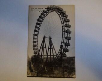 La Grande Roue paris postcard