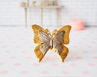 Vintage Butterfly Brooch, PD Premier Designs Pin, Butterfly Jewelry, Brooch, Vintage Jewelry, Vintage Brooch, Retro Pin, Costume Jewelry