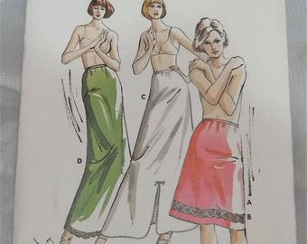 NOS New Vintage Kwik Sew Sewing Pattern 716 Ladies Half Slip Size S M L XL Uncut