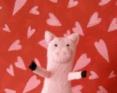 Parker the Pig Finger Puppet