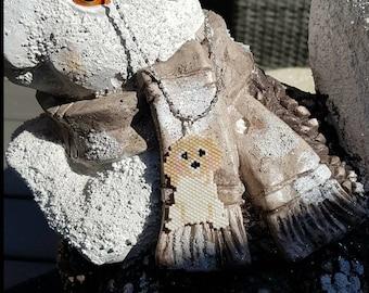 Handmade necklace/Dog necklace/Beaded Necklace