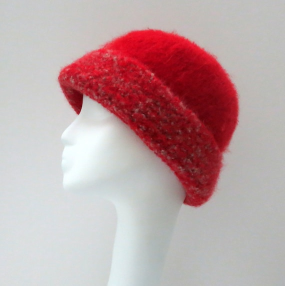 Felted Hat Pattern 249 French Felted Toque for Men and Women