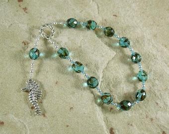 Vellamo Pocket Prayer Beads: Finnish Goddess of the Sea
