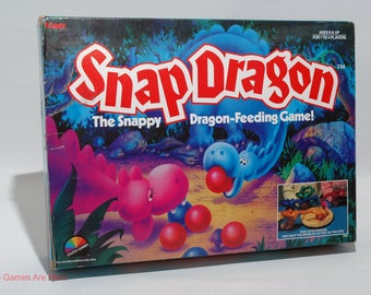 Snap Dragon Game from Coleco Games 1987 COMPLETE