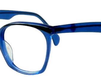 Vintage Blue Eyeglass Frames Never Used