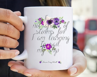 Little Women Mug - Floral Print Bookish Mug