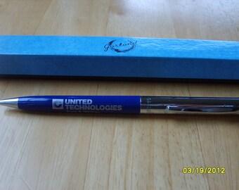 Pen, Advertising Pen, Pratt Whitney United Technologies Pen, Ink Pen