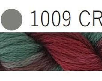 Cottage Garden Threads-CGT 1009 Cranberry-6 Strand Cotton embroidery thread-Hand Dyed Thread-hand dyed cotton-online quilting Australia
