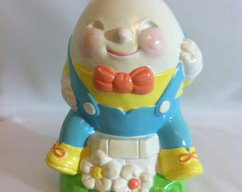 "Vintage Avon ""Humpty Dumpty"" Bank/Hand painted/Korea"