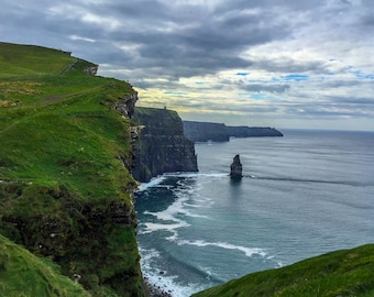 Cliffs of Moher Wall Print, Ireland Print, Cliffs of Moher Print, Cliffs of Moher Ireland, Ireland Art, Ireland Photography, Ireland Photo