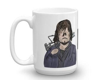 Daryl Dixon, The Walking Dead, TWD Character Coffee Mug