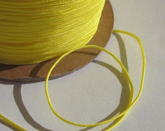 1 m of thread for jewelry, cotton and polyester 1 mm thick approximately (59)