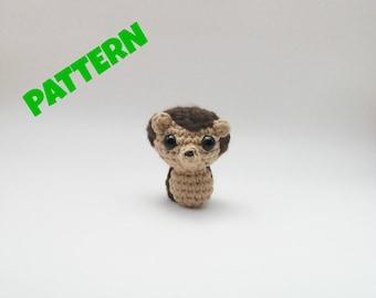 Amigurumi Hedgehog Pattern, Crochet Woodland Pattern, Amigurumi Woodland Pattern, Crochet Animal Pattern, Amigurumi Animal Pattern, Kids Toy