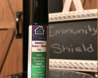 Immunity Shield-Child - All Natural - 100% Certified Pure Therapeutic Grade Essential Oils