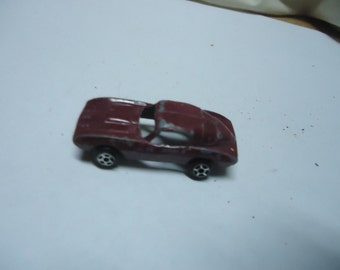 Vintage Tootsietoy Toy Race Car, collectable, USA, Chicago
