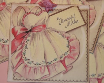 To A Wonderful Mother, Birthday Gift Tags or Cards, Mom Birthday Tags