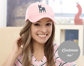Embroidered French Bulldog Hat