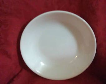 Vintage correll winter frost bowl