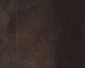 Coffee Brown Velvet Pillow Cover