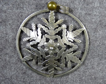 Nice Sterling Silver Pendant Marked A G