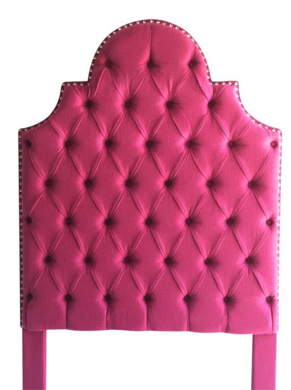 Doble tamaño tapizado cabecero Tufted cabecero rosa cabecero