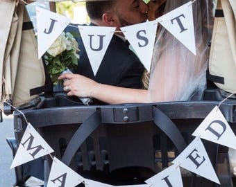 Just Married - banner