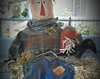Kay's Primitive Designs Hayride Scarecrow Pattern Packet