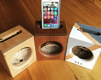 JICABOX: an eco friendly speaker and passive amplifier