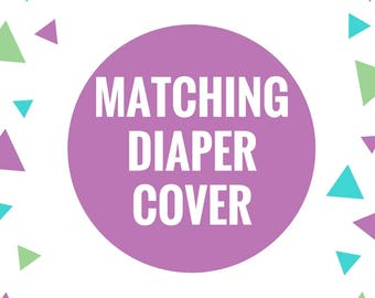 Matching Diaper Cover