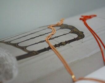 The orange and peach chains