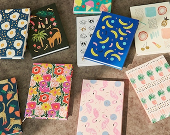 BBH Diary- Monthly + Weekly planner in 8 Beautiful Illustration