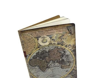 Travel journal world map journal travel notebook journey adventure travel journal antique world map notebook vacation diary trip log old gumiabroncs Gallery
