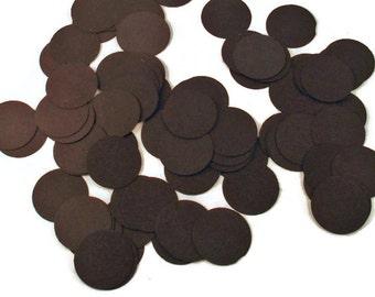 Funfetti Paper Confetti  Dots in Jet Black Quantity 300