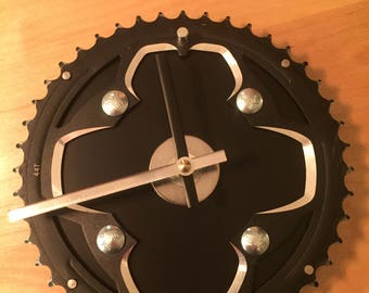 Recycled Bike Gear Clock
