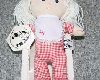 A Pauline Bjonness-Jacobsen Design Doll - Tiki -Cloth Rag Doll