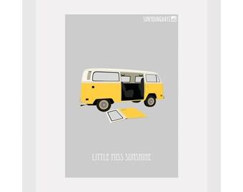 little miss sunshine movie poster postcard 4'X6'