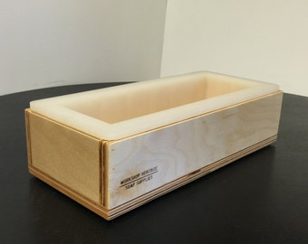 """Support Box for 10"""" Silicone Loaf Mold - Fits 10"""" Bramble Berry and Bulk Apothecary Molds"""