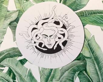 Medusa sticker (glossy)