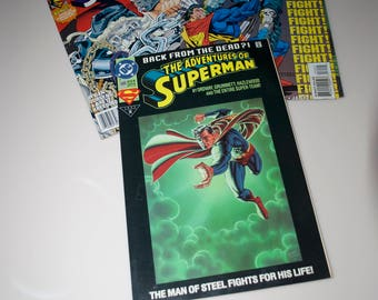 Superman Comic Books Lot Set DC Comics