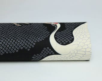 Japanese cranes fabrics