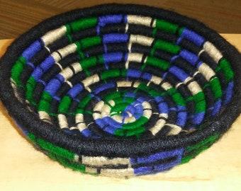 Yarn Rope Coil Basket