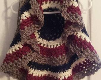Toddler Crochet Circle Vest